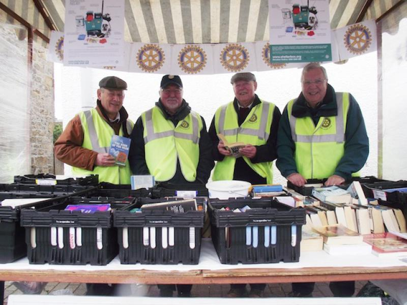 Our Bookstall at Balerno Farmers Market - Again! - Eleven Crew 2