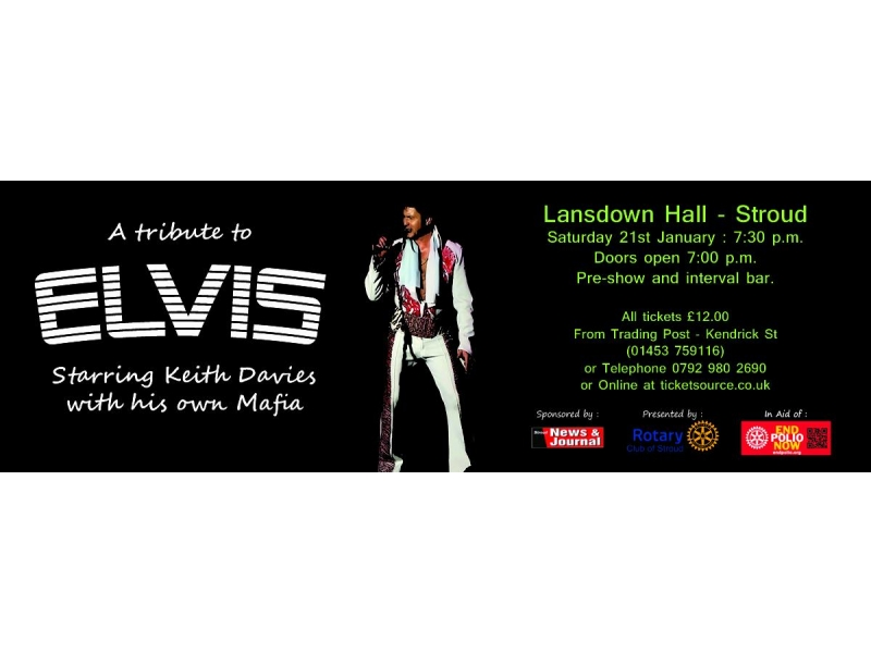 Elvis Tribute Concert in aid of End Polio Now -