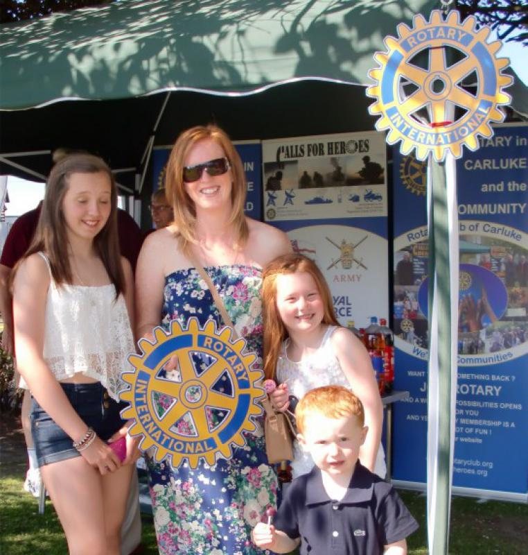 Carluke Gala day June 2013 - Engage Rotary 1
