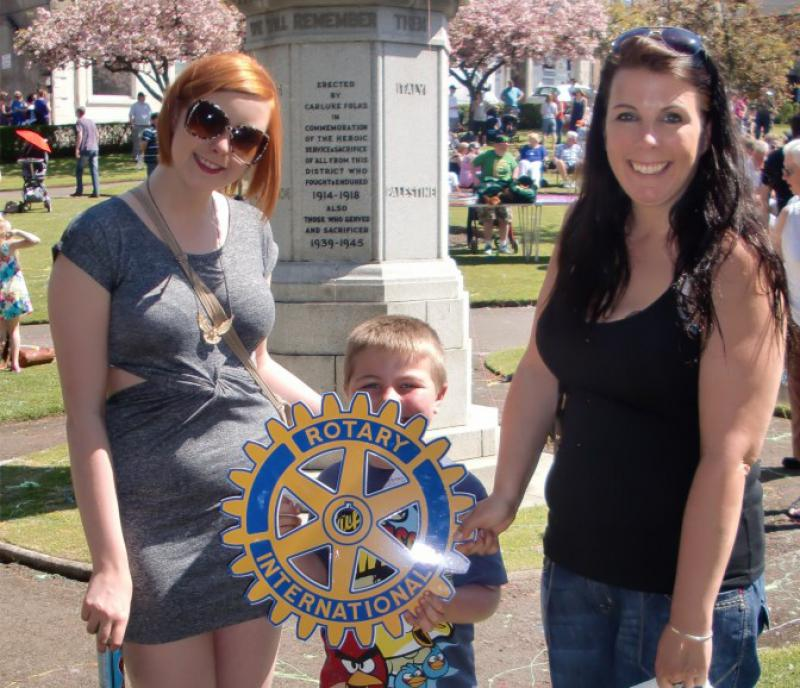 Carluke Gala day June 2013 - Engage Rotary 10