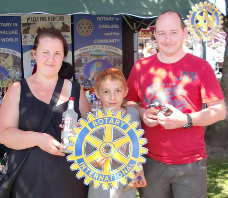 Carluke Gala day June 2013 - Engage Rotary 16