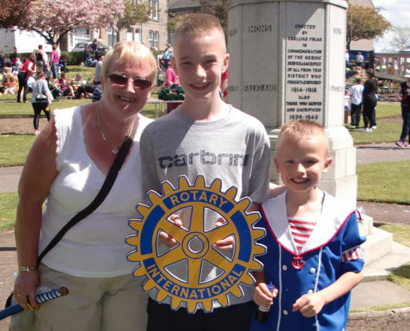 Carluke Gala day June 2013 - Engage Rotary 46