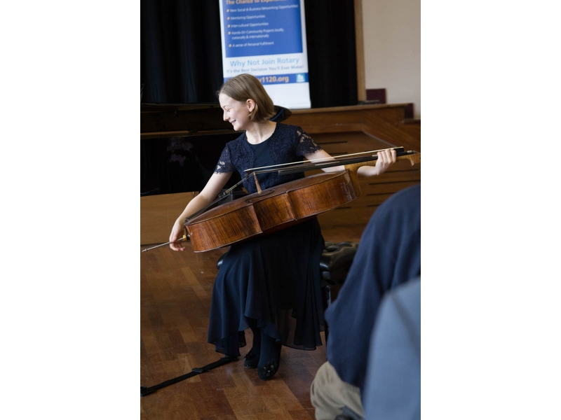 Jasmine from Epsom competes at Regional Young Musician - Rochester