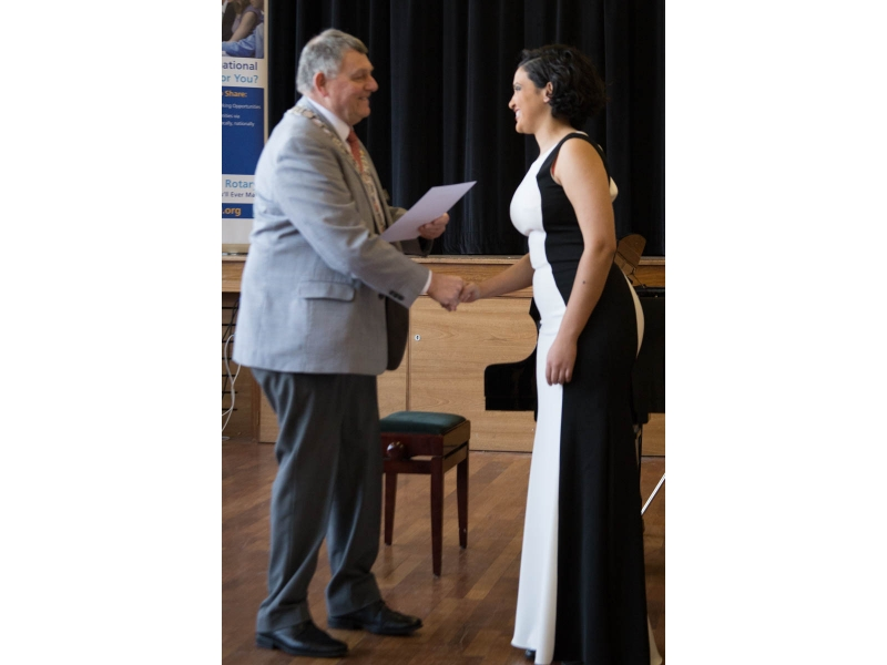 Jasmine from Epsom competes at Regional Young Musician - Godalming