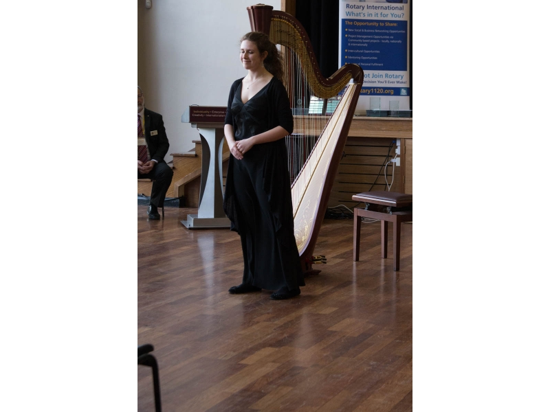 Jasmine from Epsom competes at Regional Young Musician - Titsey