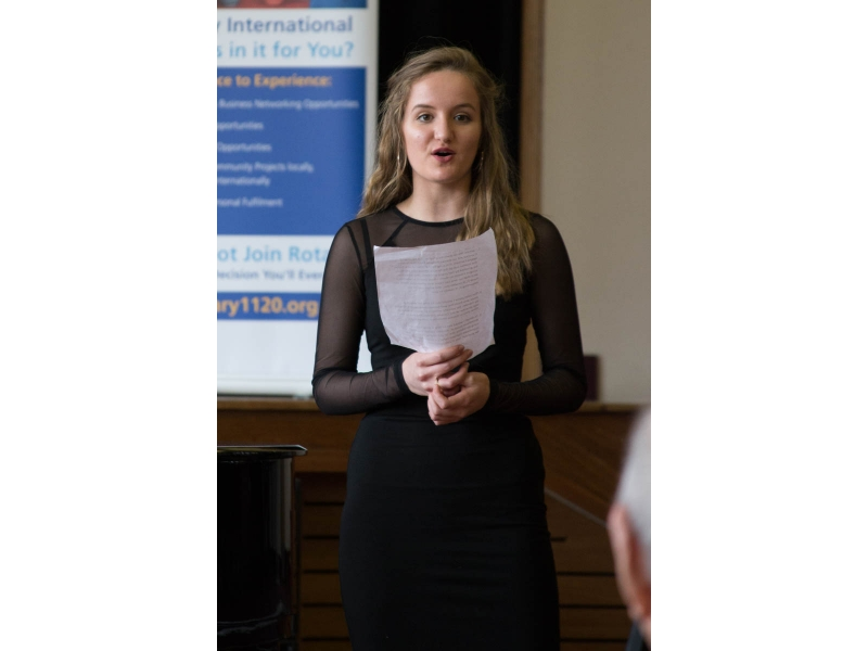 Jasmine from Epsom competes at Regional Young Musician - Ascot and Wokingham