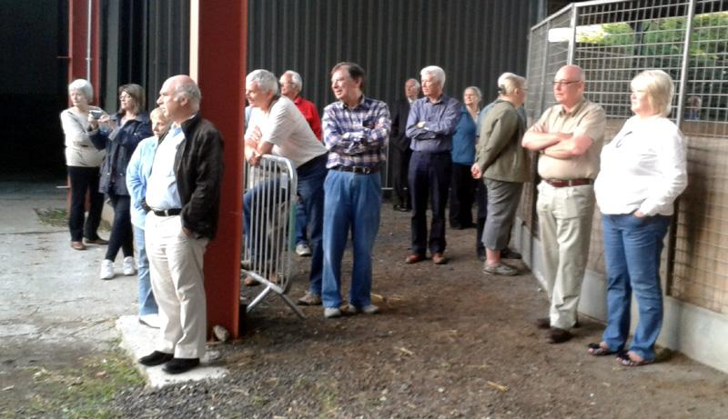 Outside Visit - Equine Pathways - Rotarians