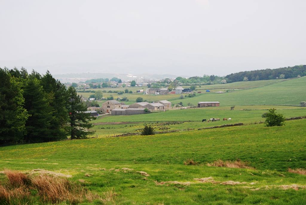 Views around Church and Oswaldtwistle -