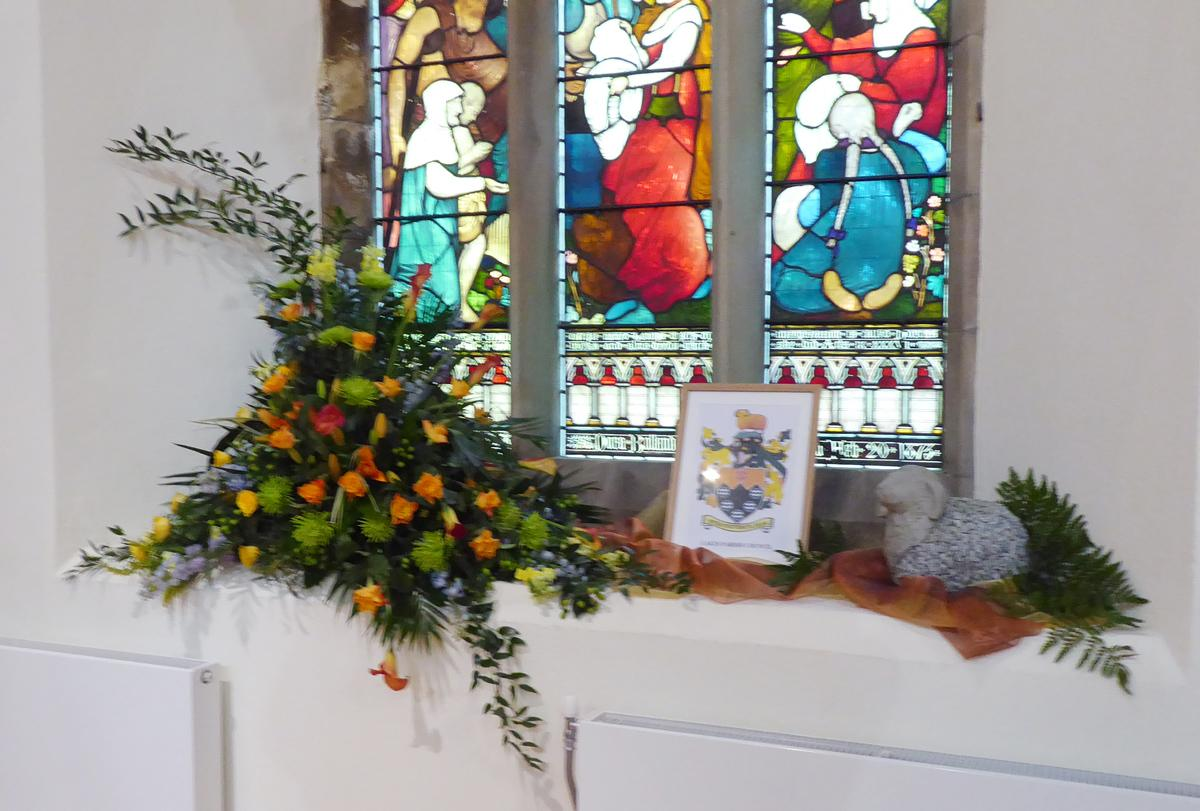 Community Flower Festival - Rotarians' partners were also responsible for the Parish Council display.
