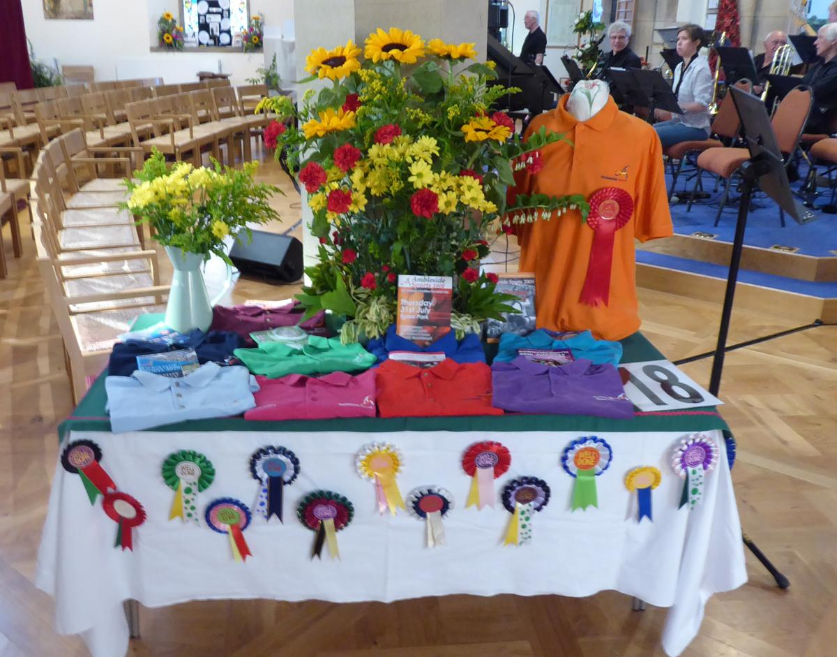 Community Flower Festival - Ambleside Sports Association display