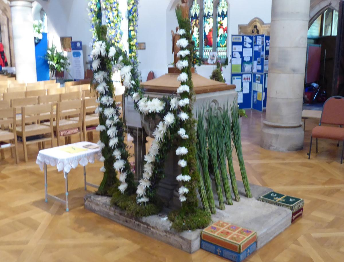 Community Flower Festival - Ambleside Rushbearing display