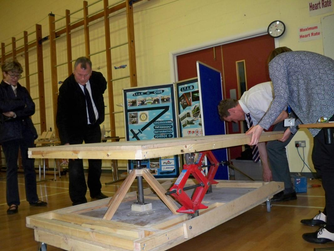 Falcon project with Ryburn Valley High -