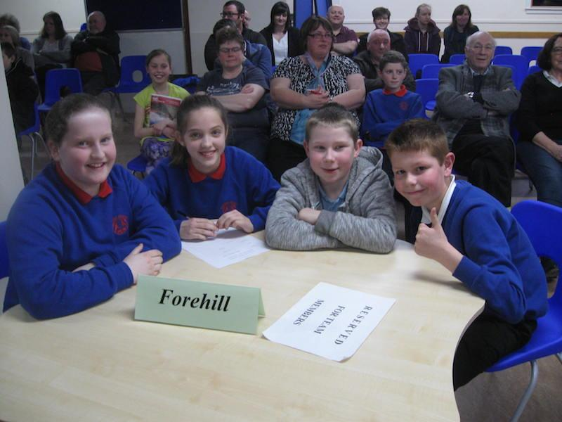 Primary School Quiz 2016 - FOREHILL-1