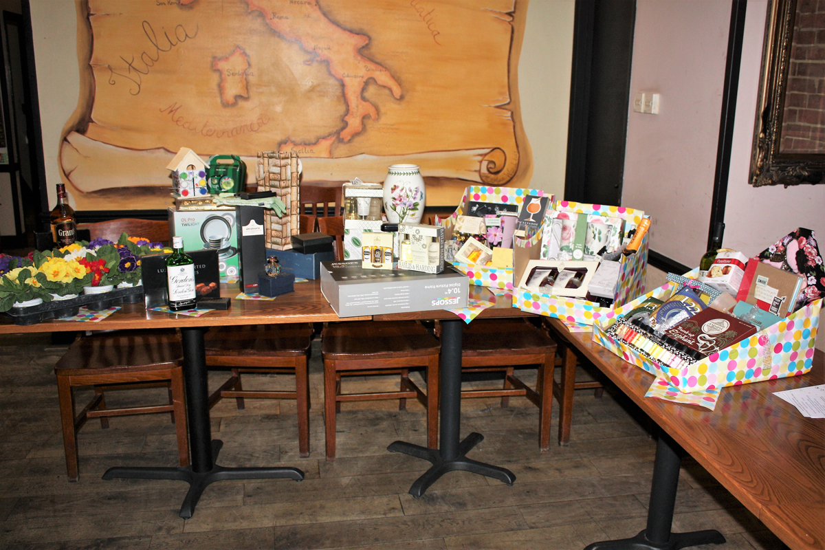 Foundation Lunch 2017 - Raffle Prize Table