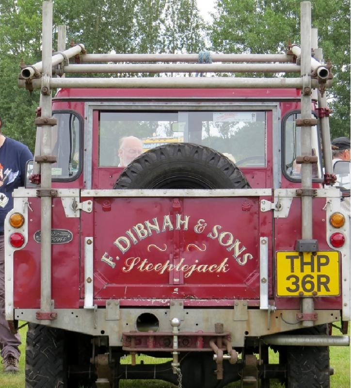 Leisure Lakes Steam and Vintage Vehicle Rally 2016 - Fred Dibnah's Iconic Landrover