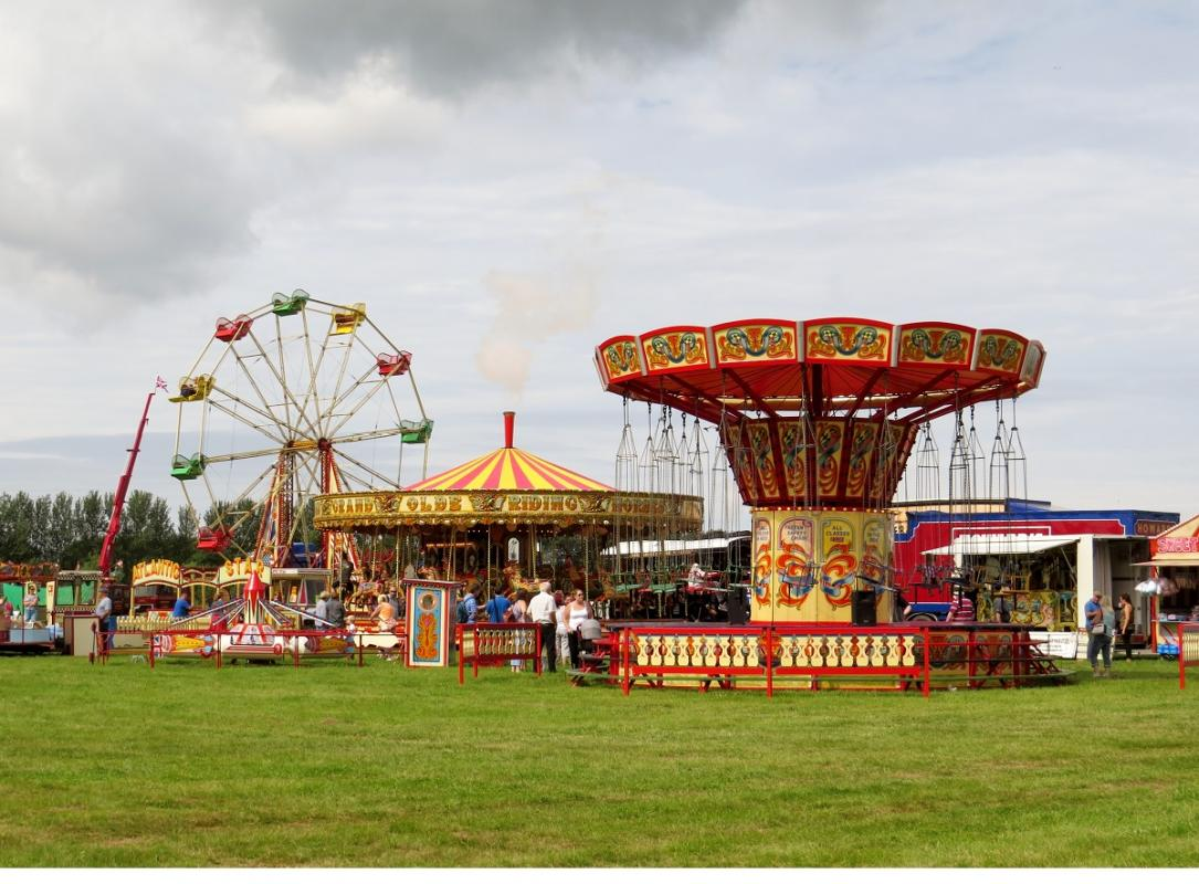 Leisure Lakes Steam and Vintage Vehicle Rally 2016 - All the Fun at the Fair !