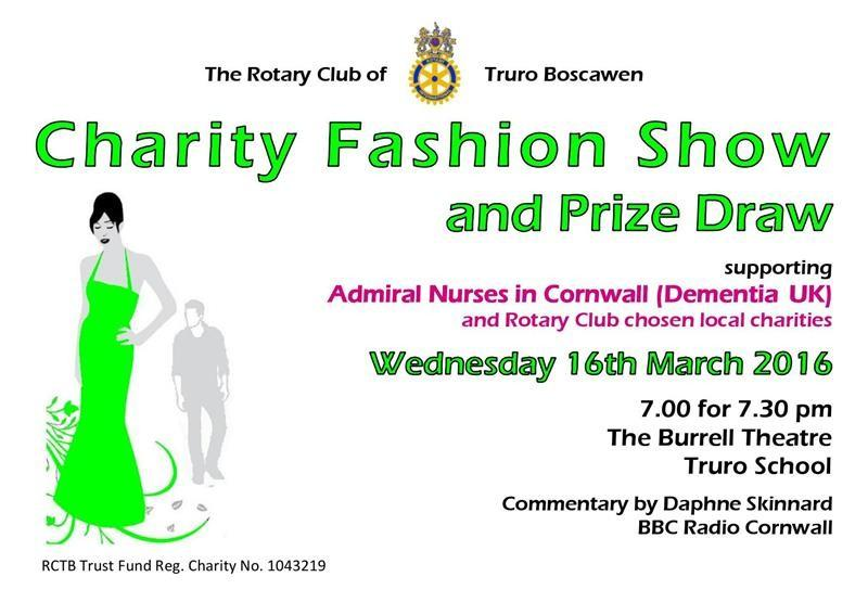 16 March 2016 Charity Fashion Show and Prize Draw - The event ticket