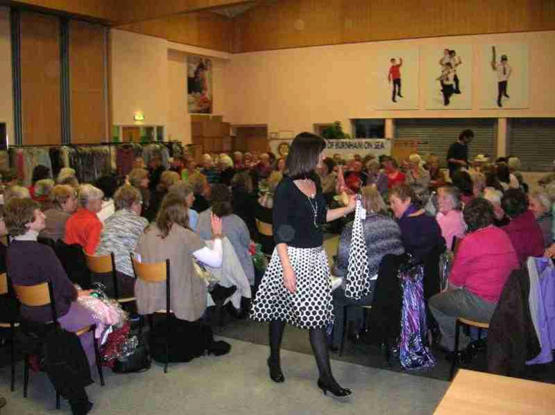 Fund Raising - The Annual Rotary/Inner Wheel Fashion Show/Sale
