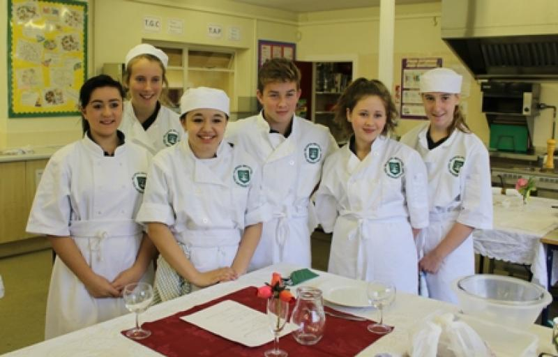 Young Chef 2014/15 - Finalists 2014, before they began cooking