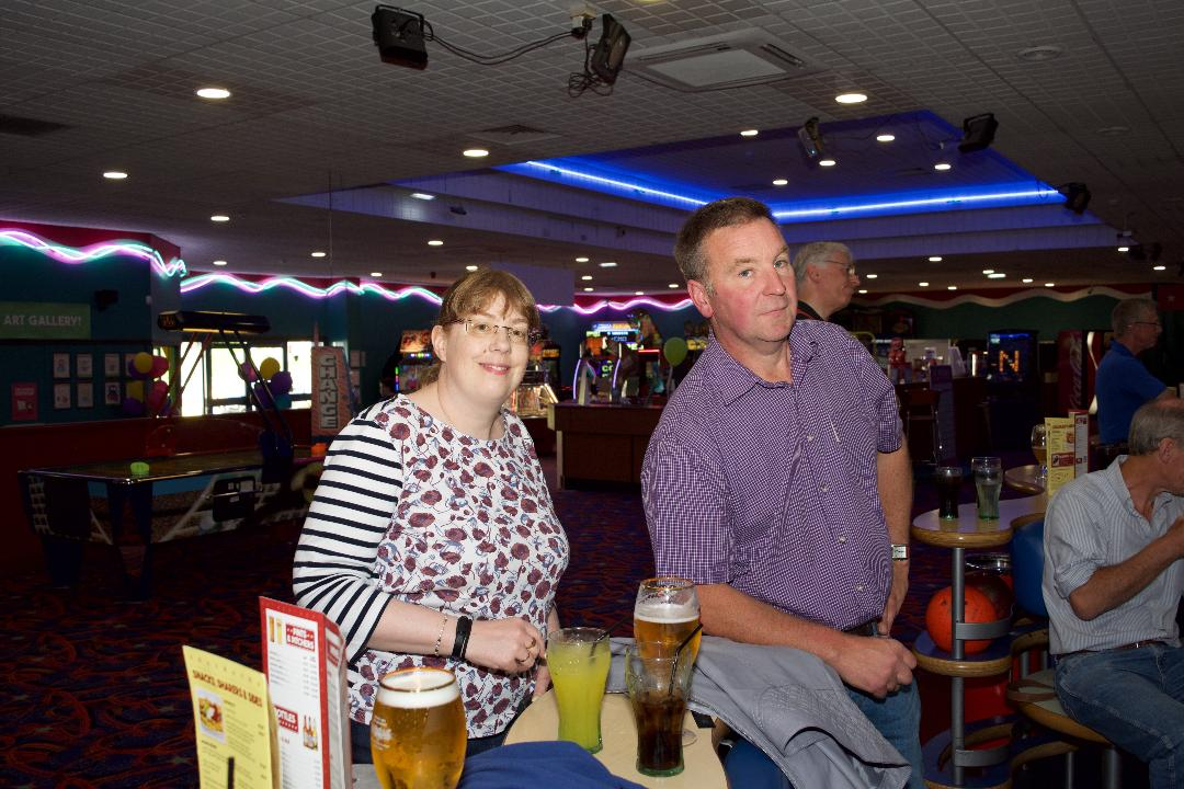 Ten Pin Bowling @ Stirling   12 June 18.30 @ Bowling Alley - Fiona and George