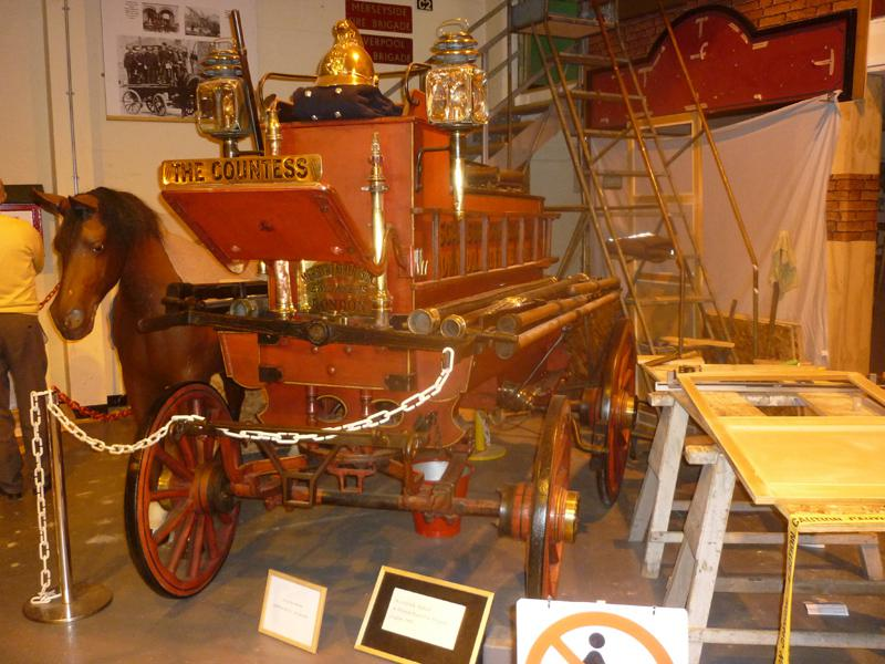 Visit to the  Merseyside Fire & Rescue Museum  - Fire Museum 17