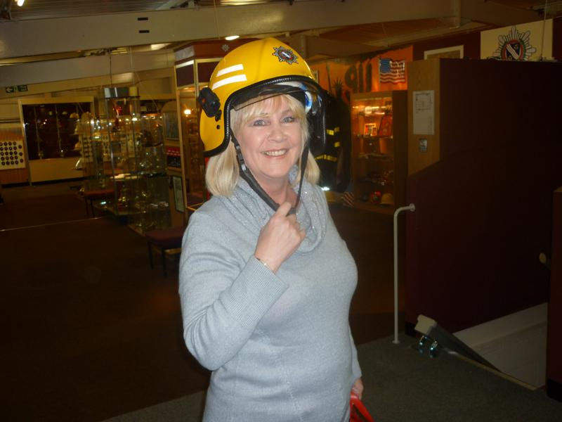 Visit to the  Merseyside Fire & Rescue Museum  - Firewoman Jan