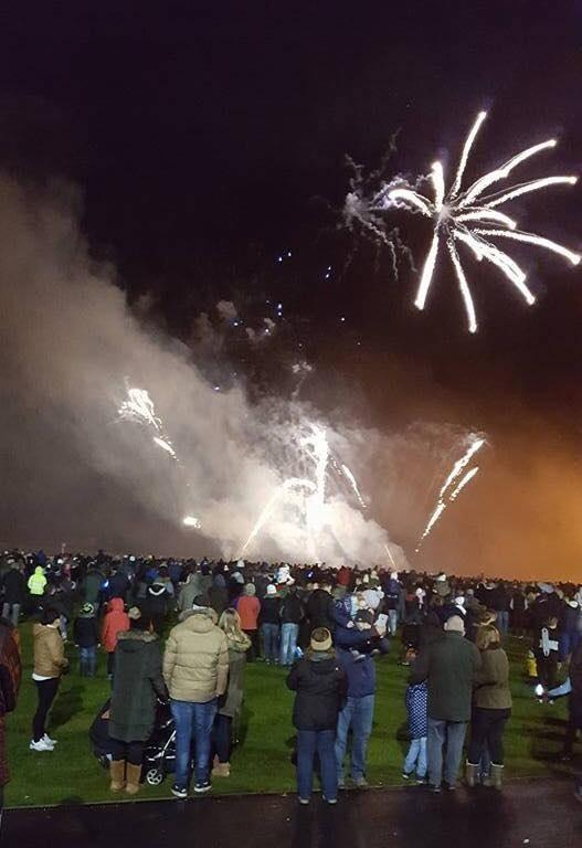 2017 Bonfire and Firework Display -