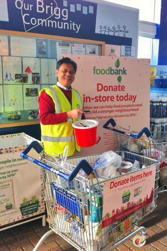 Tesco Xmas Food Bank Collection - FoodBank3-web
