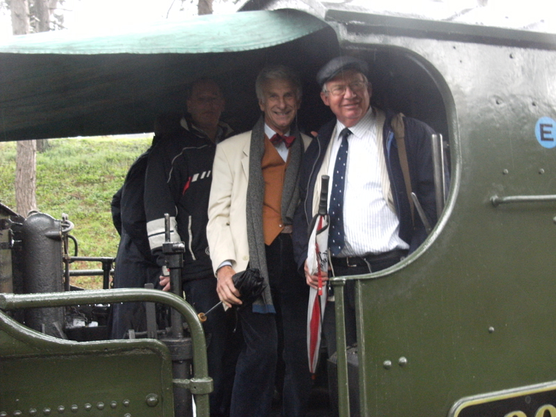 GWR  - Three Rotarians feeling chuffed.