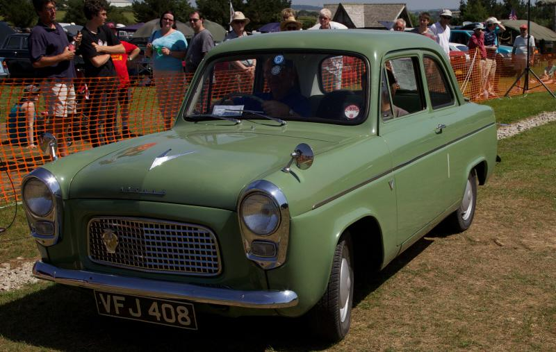 Wheels 2013 - Report and Slide Show - Ford Anglia
