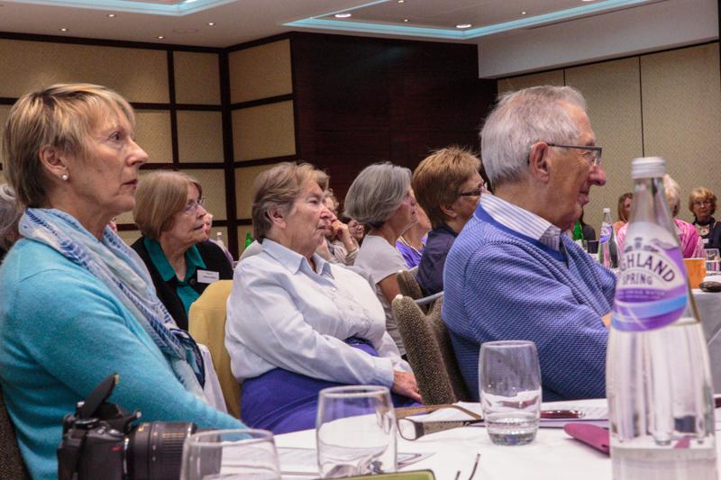 Peace Forum September 2013 - A very attentive audience.