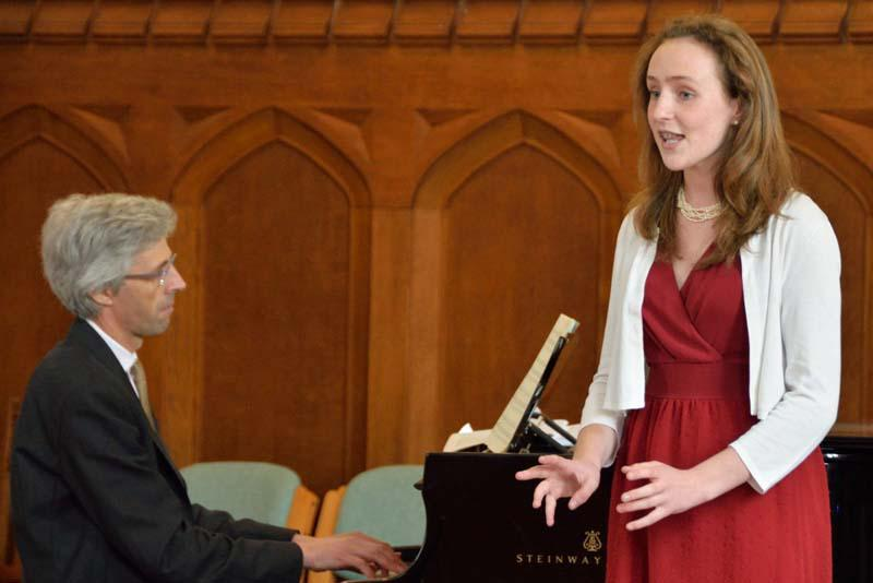 Robert wins RIBI Young Musician!   - Although one of the youngest competitors, Francesca gave a splendid performance