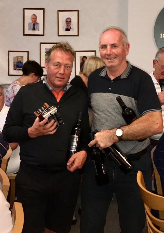 Annual Am/Am Golf Competition 2017 - Golf competition 4th Prize went to David Stewart Joinery with a score of 173