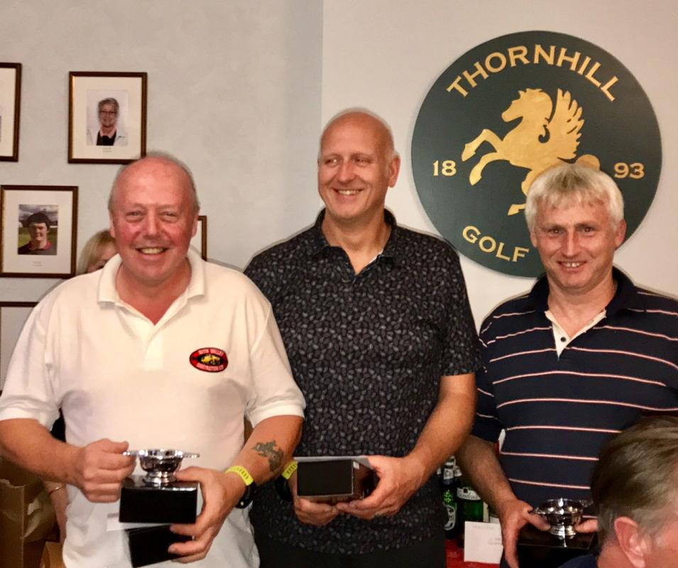 Annual Am/Am Golf Competition 2017 - Winners of 2017 competition goes to The Muckshifters with a score of 165 (inward 9 score of 101)
