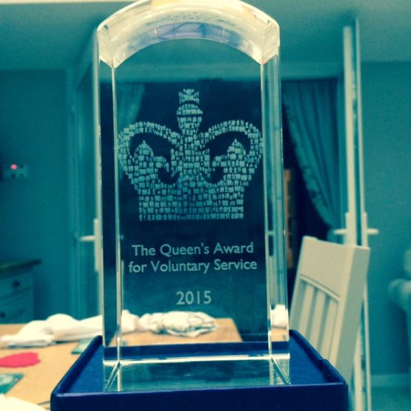 SOLENT DOLPHIN. Alison MacGregor wins Queen's Award for Voluntary Service. - At The Rotary Club on 11 January 2016
