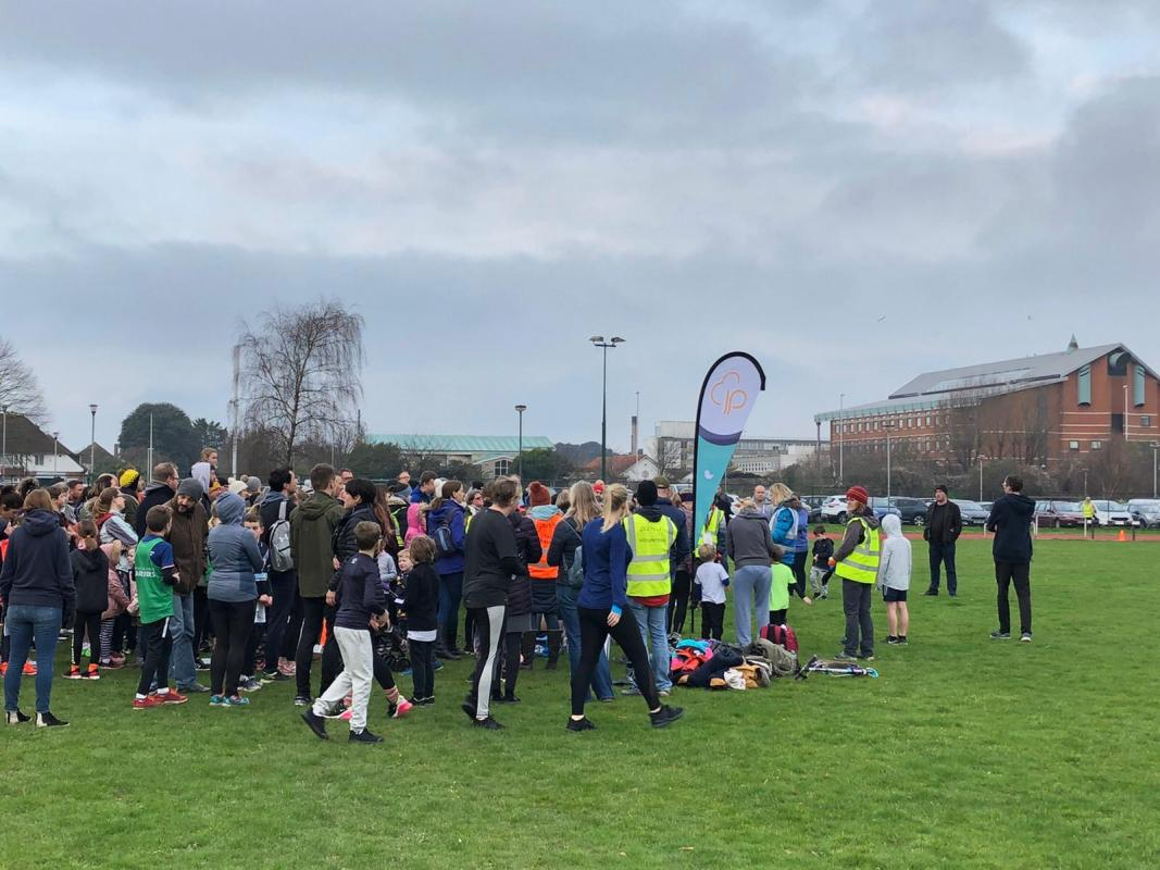 Junior parkrun - weekly Sunday fun run for 4-14 years old in WEorthing