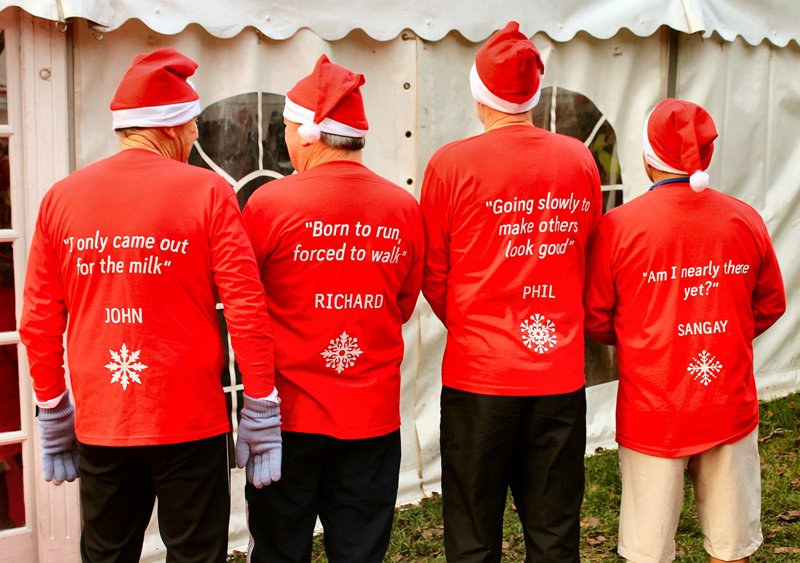 Ely Festive 5k Fun Run Nov 2018 - In reverse