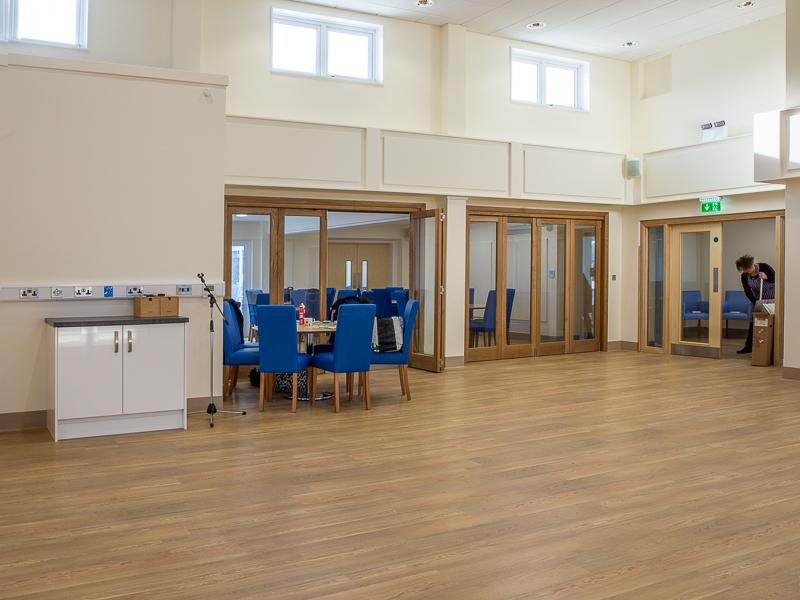 Ready for the Members to Return - The dedicated dining room communicates with both the hall and on the far side our new lounge.