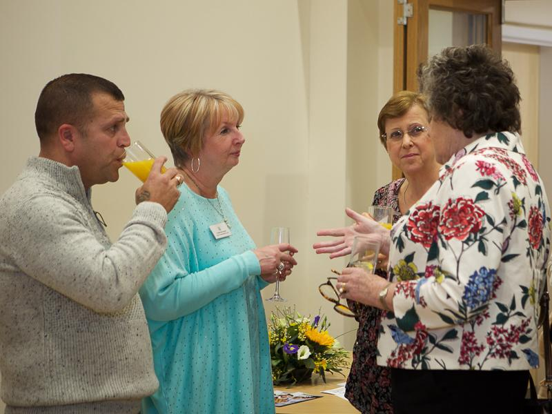 Good Companions Club Opening - Paulo Martins, Yvonne Brockbank, Tricia Barclay and Inner Wheel President Marianne Pallot