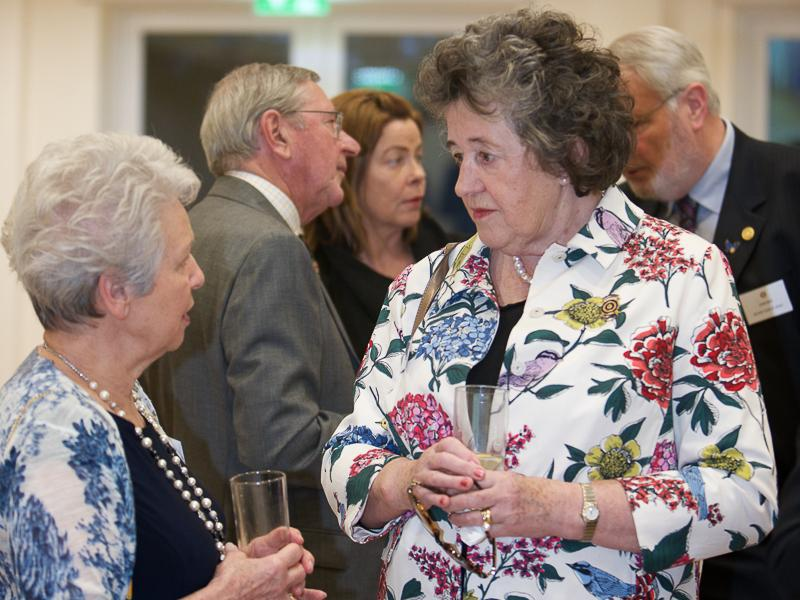 Good Companions Club Opening - Kathleen Binnington Coles and Marianne Pallot