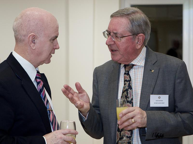 Good Companions Club Opening - Senator Andrew Green and David Watkins