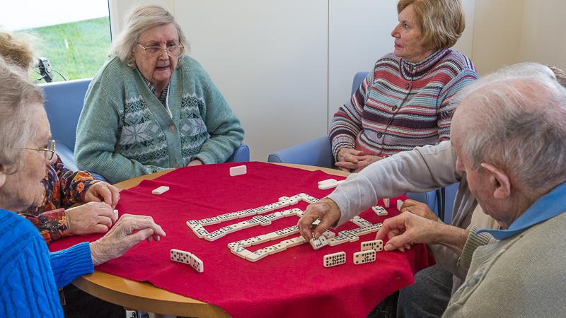 The New Club in action - Feb 2016 - And dominoes of course if that is your choice.
