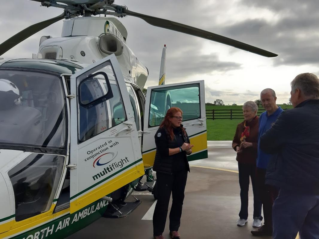 Annual Rotary Golf Day Fundraiser - A look at the Air Ambulance