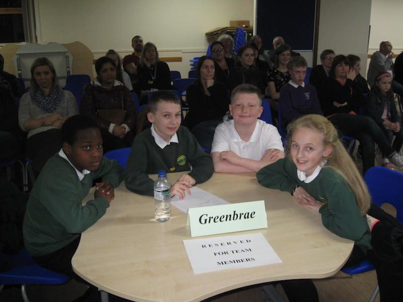 Primary School Quiz 2016 - GREENBRAE
