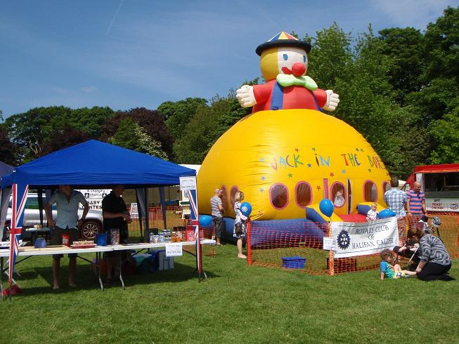 Halifax Charity Gala 2013 - Castle and Gazebo - what a lovely sunny day!