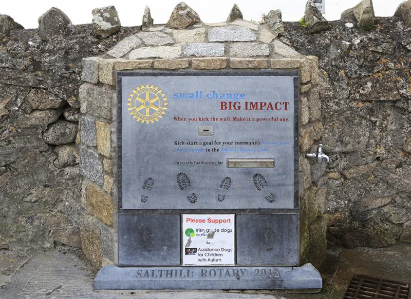About Us - Galway Salthill Rotary Club's Kick the Wall campaign for Local Charities