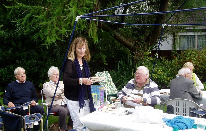 GARDEN PARTY AT 11 LABURNUM GROVE - Garden Party 2014-11