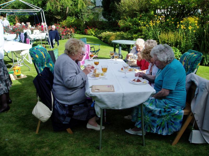 GARDEN PARTY AT 11 LABURNUM GROVE - Garden Party 2014-3