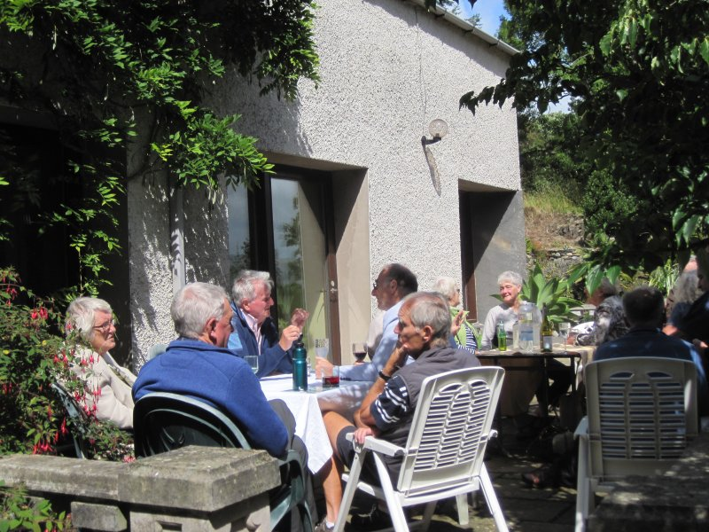 Garden Party  - Relaxing in the sun