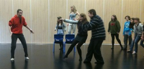 Megan Hudson's Talk about Thame Youth Theatre -